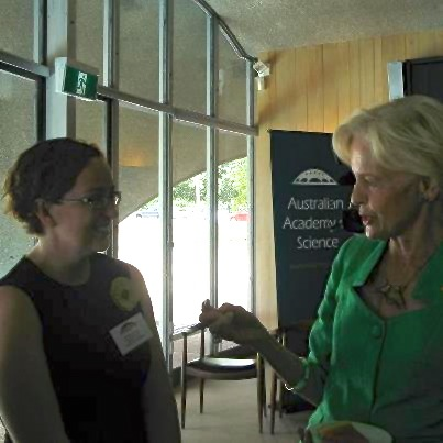 Dr. Alford with the Governor General, Her Excellency Quentin Bryce