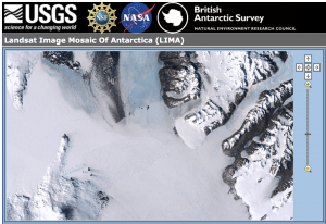 Landsat screenshot
