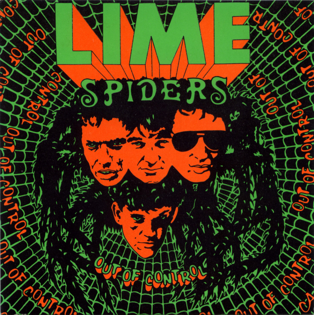 lime-spiders-out-of-control-front